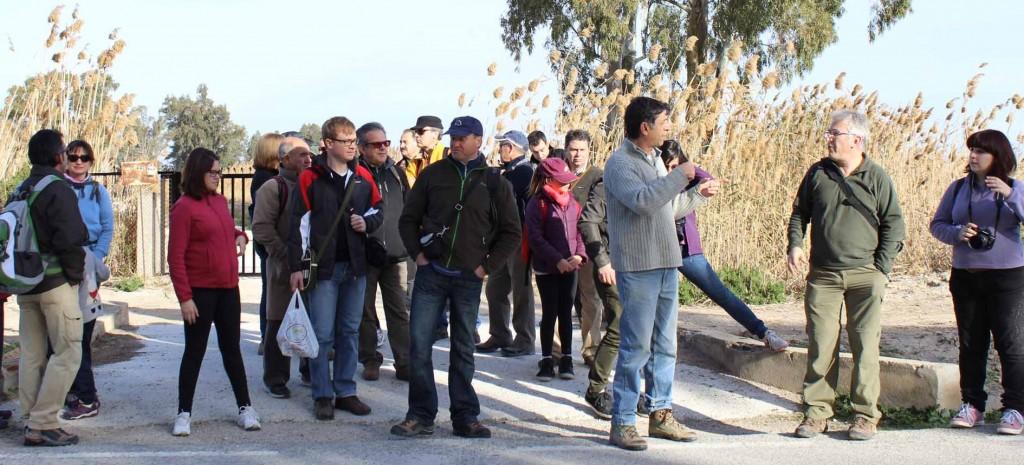 salidas de campo AHSA alicante excursiones