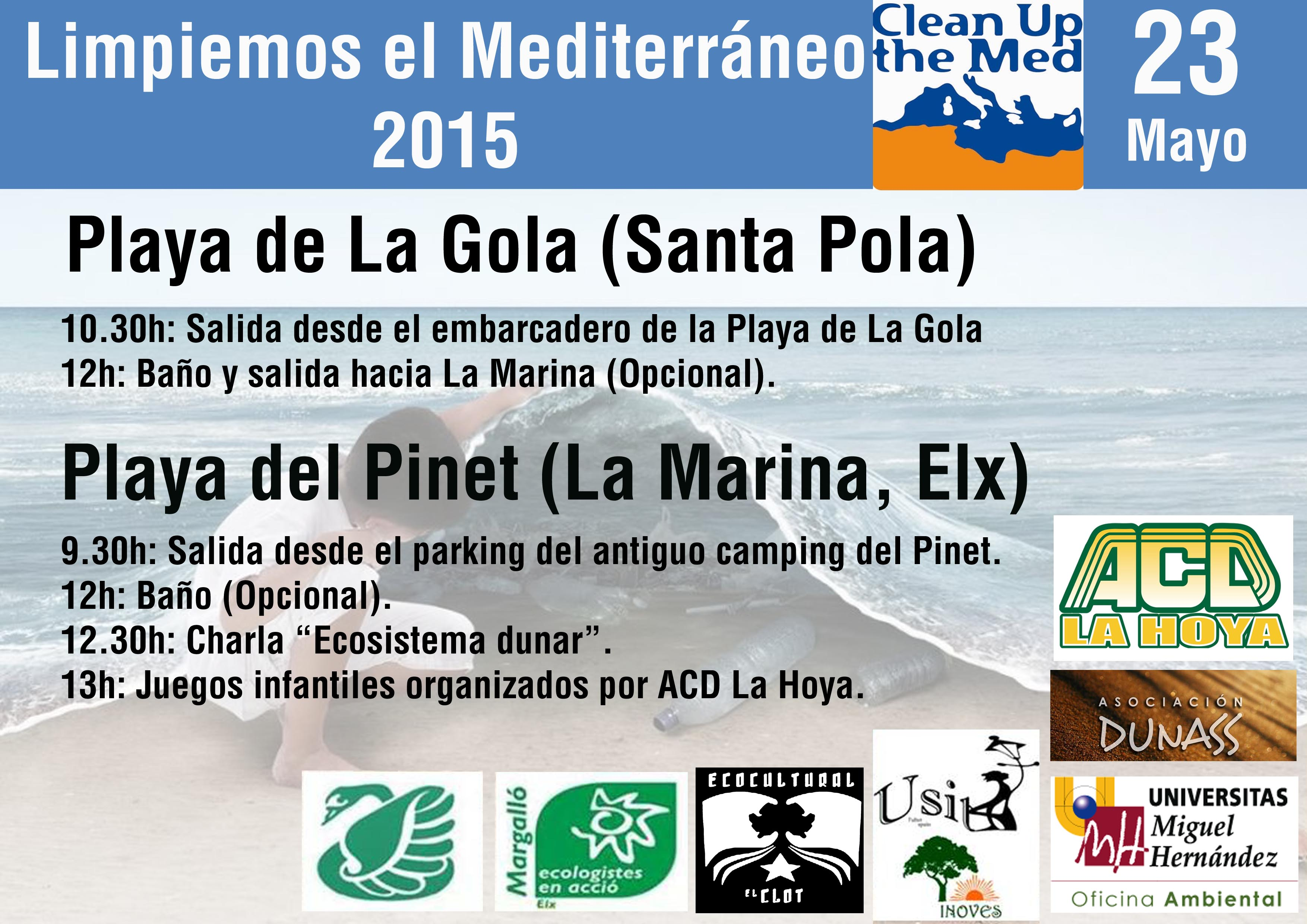 Clean Up the Med 2015